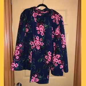 Floral Pant Suit